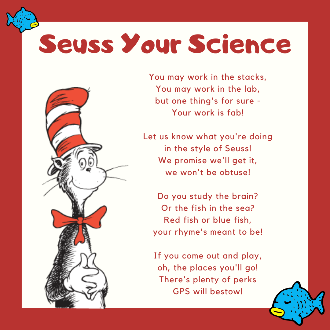 A Dr. Seuss style rhyme about the event